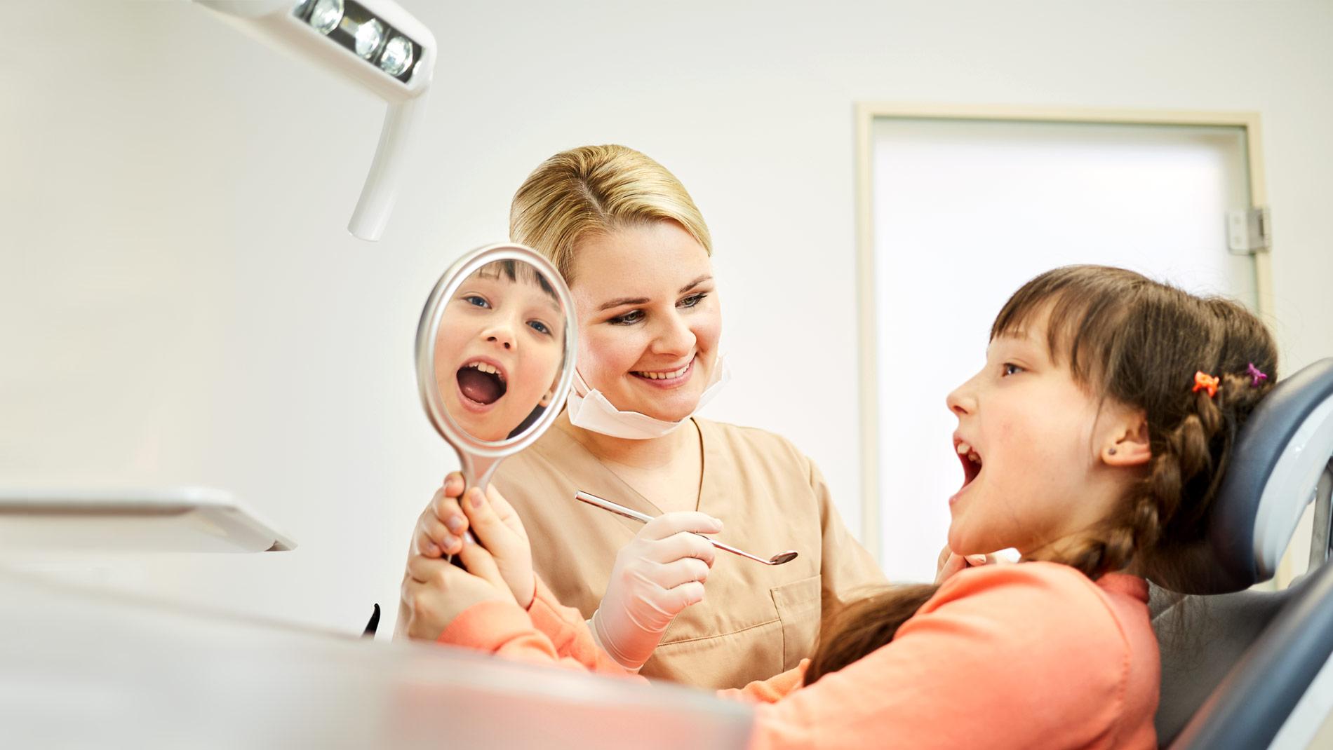 Kleine Zähne brauchen grossen Schutz.